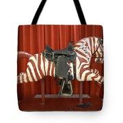 Original Zebra Carousel Ride Tote Bag
