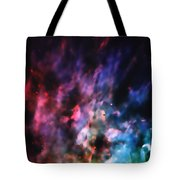 Orion Nebula Rainbow Smoke Tote Bag