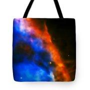 Orion Nebula Rim Tote Bag