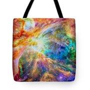 Orions Heart Rectangular Format Tote Bag by Eti Reid