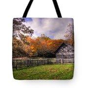 Orlean Puckett's Cabin Tote Bag by Benanne Stiens
