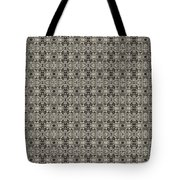 Ornament Engraved On Metal Surface Tote Bag