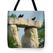 Ornamental Crows Tote Bag