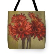 Ornamental Gerbers Tote Bag