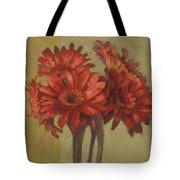 Ornamental Gerbers Tote Bag