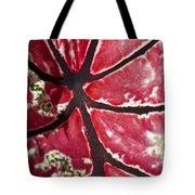 Ornamental Leaf Tote Bag