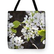 Ornamental Pear Blossoms No. 1 Tote Bag