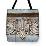 Ornamental Scrollwork Panel - Architectural Detail Tote Bag