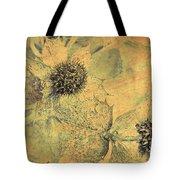 Ornamental Thistle Flower Tote Bag