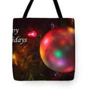 Ornaments-1942-happyholidays Tote Bag