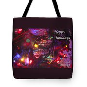 Ornaments-2038-happyholidays Tote Bag