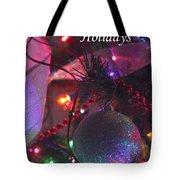 Ornaments-2136-happyholidays Tote Bag