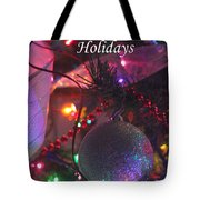 Ornaments-2143-happyholidays Tote Bag