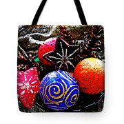 Ornaments 7 Tote Bag by Sarah Loft