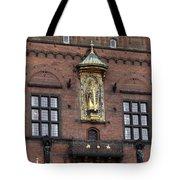 Ornate Building Artwork In Copenhagen Tote Bag