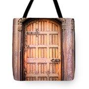 Ornate Door Tote Bag