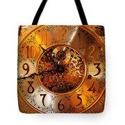 Ornate Timekeeper Tote Bag