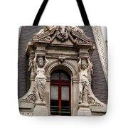 Ornate Window Of City Hall Philadelphia Tote Bag