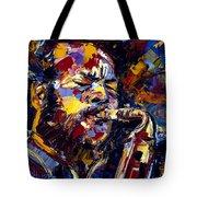 Ornette Coleman Jazz Faces Series Tote Bag