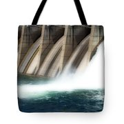 Oroville Dam Unleashed Tote Bag