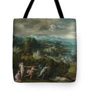 Orpheus And Eurydice Tote Bag