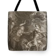 Orpheus, Leading Eurydice Out Of Hell Tote Bag