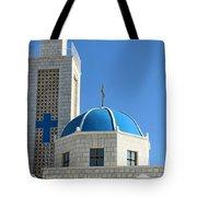 Orthodox Church At Taybeh Tote Bag