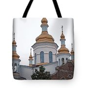Orthodox Crosses Tote Bag