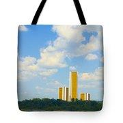 Oru River Skyline II Tote Bag