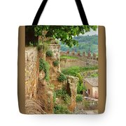 Orvieto Battlement Tote Bag