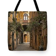 Orvieto Side Street Tote Bag by Lynn Andrews