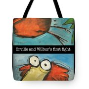 Orville And Wilburs First Flight Tote Bag