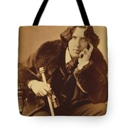 Oscar Wilde 1882 Tote Bag