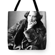 Oscar Wilde In His Favourite Coat 1882 Tote Bag