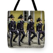 Oslo Royal Palace Guards Tote Bag