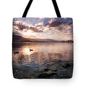 Osoyoos Lake Sunset Tote Bag