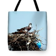 Osprey Couple Tote Bag