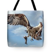 Osprey In The Clouds Tote Bag