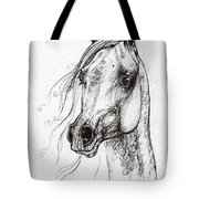 Ostragon Polish Arabian Horse 3 Tote Bag