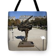 Ostrich Art At The Jardin Des Tuileries In Paris France Tote Bag