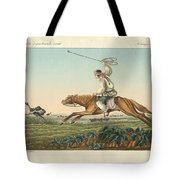 Ostrich Hunting Tote Bag