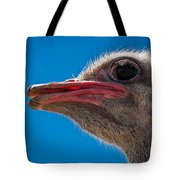 Ostrich Profile Tote Bag