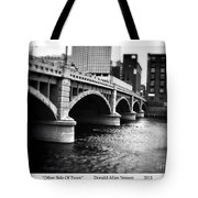 Other Side Of Town Tote Bag