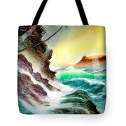 Othere Side Of Diamondhead Waikiki Hawaii Tote Bag
