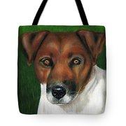 Otis Jack Russell Terrier Tote Bag