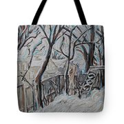 Ottawa Backyard Tote Bag