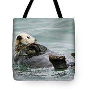 Otter At Play Tote Bag