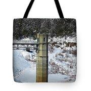 Otter Brook Dam Tote Bag