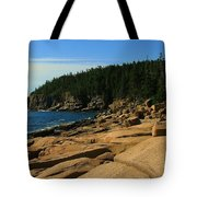 Otter Cliff Tote Bag