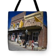 Otts Assay Office And The South Yuba Canal Building Nevada City California Tote Bag